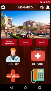 MD MARCO Hospital poster