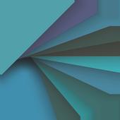 Material Cyan (Xperia Theme) icon