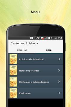 Cantemos a Jehova Letra apk screenshot