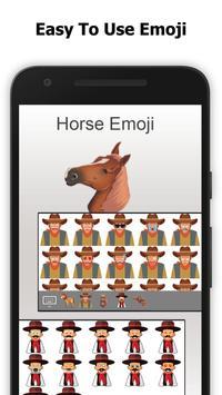 Horse Emoji Lite - Equestrian Sticker apk screenshot
