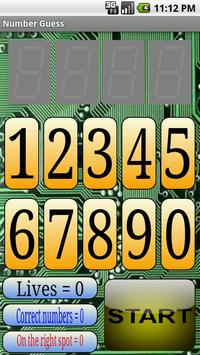Number Guess apk screenshot