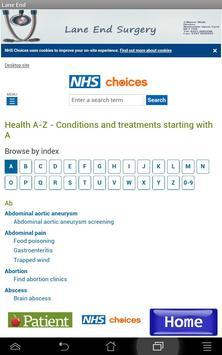 NHS Lane End Surgery screenshot 4