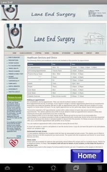 NHS Lane End Surgery screenshot 7