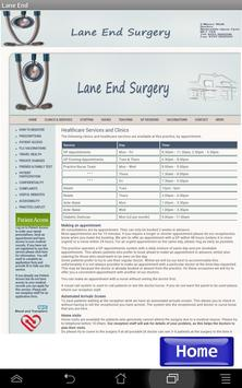 NHS Lane End Surgery apk screenshot