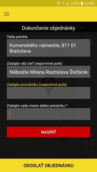 Taxi Anjeli Bratislava.app screenshot 1