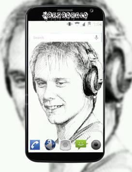DJ Armin van Buuren Wallpaper poster