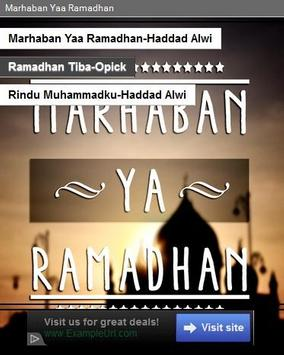 Marhaban Yaa Ramadhan poster