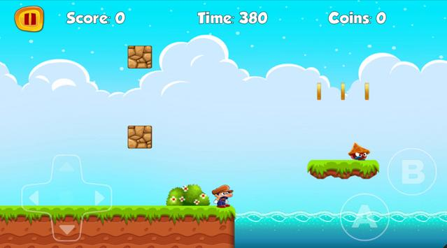 Super Adventures of Mario apk screenshot