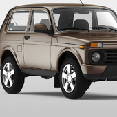 Wallpapers New Lada VAZ 2121 4x4 Car Russian icon