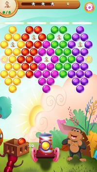 Jungle Monkey Bubble poster