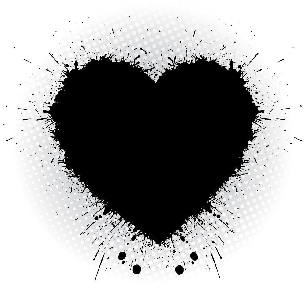 Unduh 6000+ Wallpaper Black Heart HD Terbaik