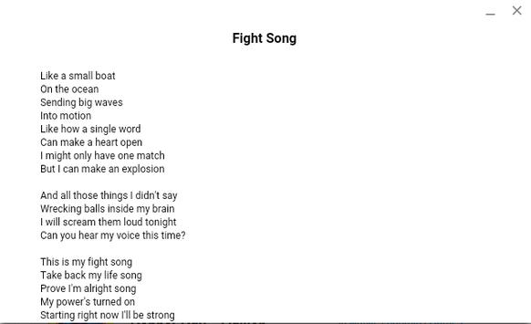Rachel Platten Songs Lyrics screenshot 2