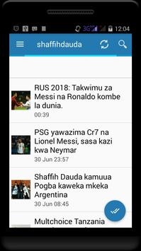 Sauti za Kiswahili poster