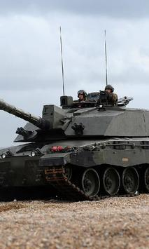 Wallpapers Battle tank FV40304 poster