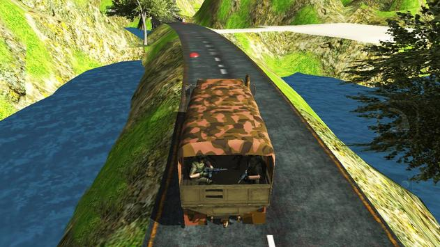 Army Cargo Transport Challenge poster