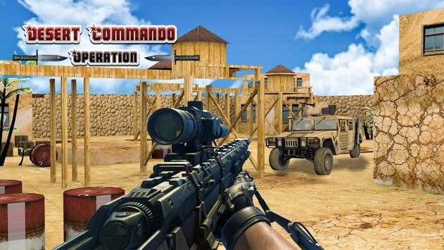 Commando Desert Operation screenshot 4