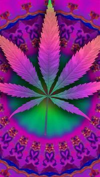 Psychedelic Marijuana Live Wallpaper FREE screenshot 1