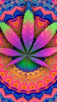 Psychedelic Marijuana Live Wallpaper FREE screenshot 2