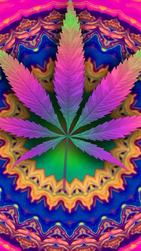 Psychedelic marijuana live wallpaper free for android - Pot leaf wallpaper ...