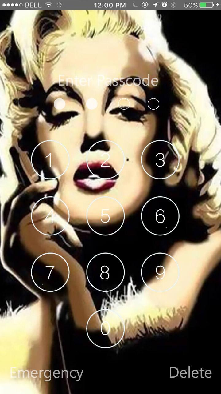 Marilyn Monroe Lock Screen Hd Wallpaper For Android Apk Download