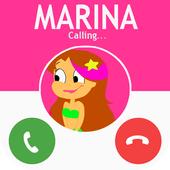 Fake call From marina 2018 icon