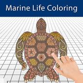 Colouring Games - Marine Life icon