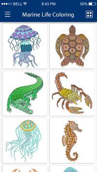 Colouring Games - Marine Life screenshot 10
