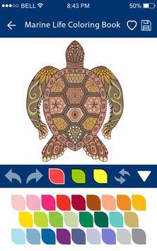 Colouring Games - Marine Life screenshot 4