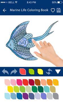 Colouring Games - Marine Life screenshot 5