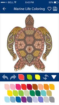 Colouring Games - Marine Life screenshot 8