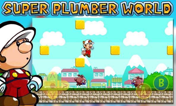 Super Plumber World poster