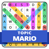 Word Search Topic For Mario icon