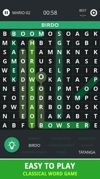 Word Search Topic For Mario apk screenshot
