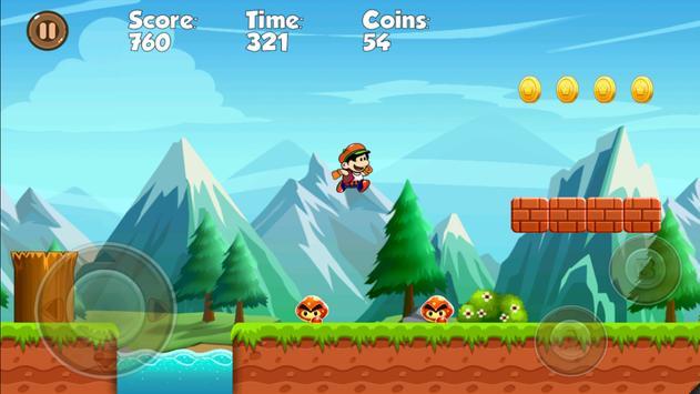 Marco World Run of Mario poster