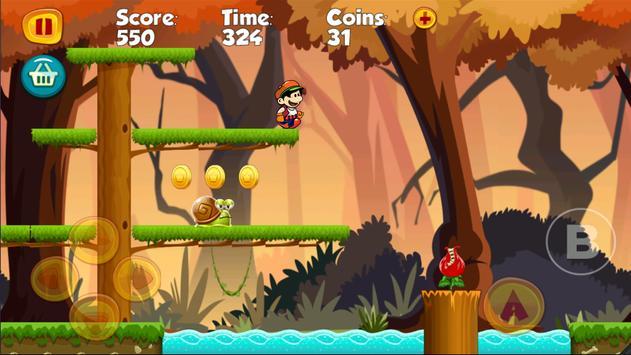 Marco World Run of Mario apk screenshot