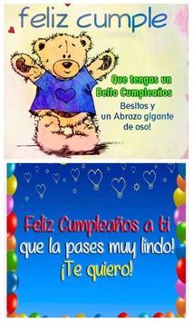 Dedicatorias De Feliz Cumpleaños poster