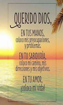 Oracion De Entrega A Dios poster