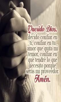 Oracion Para Dar Gracias A Dios poster