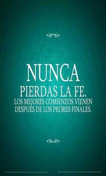 Frases Calidas De Dios poster