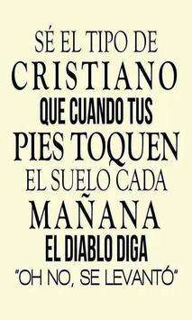 Frases De Dios Al Mundo poster