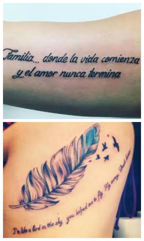 Frases Para Tatuajes Mujeres For Android Apk Download