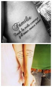Frases Para Tatuarse Hombres poster
