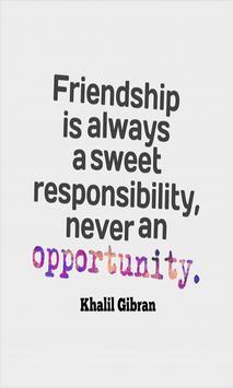 Friendship Quotes & Messages apk screenshot