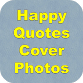 Happy Quotes Cover Photos icon