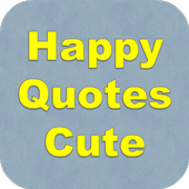 Happy Quotes Cute icon