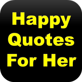 Happy Quotes For Her icon