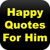 Happy Quotes For Him icon