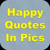 Happy Quotes In Pics icon