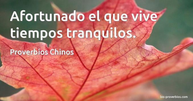 Proverbios Chinos De Amistad poster