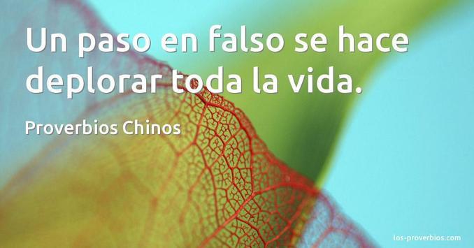Proverbios Chinos De Amor poster